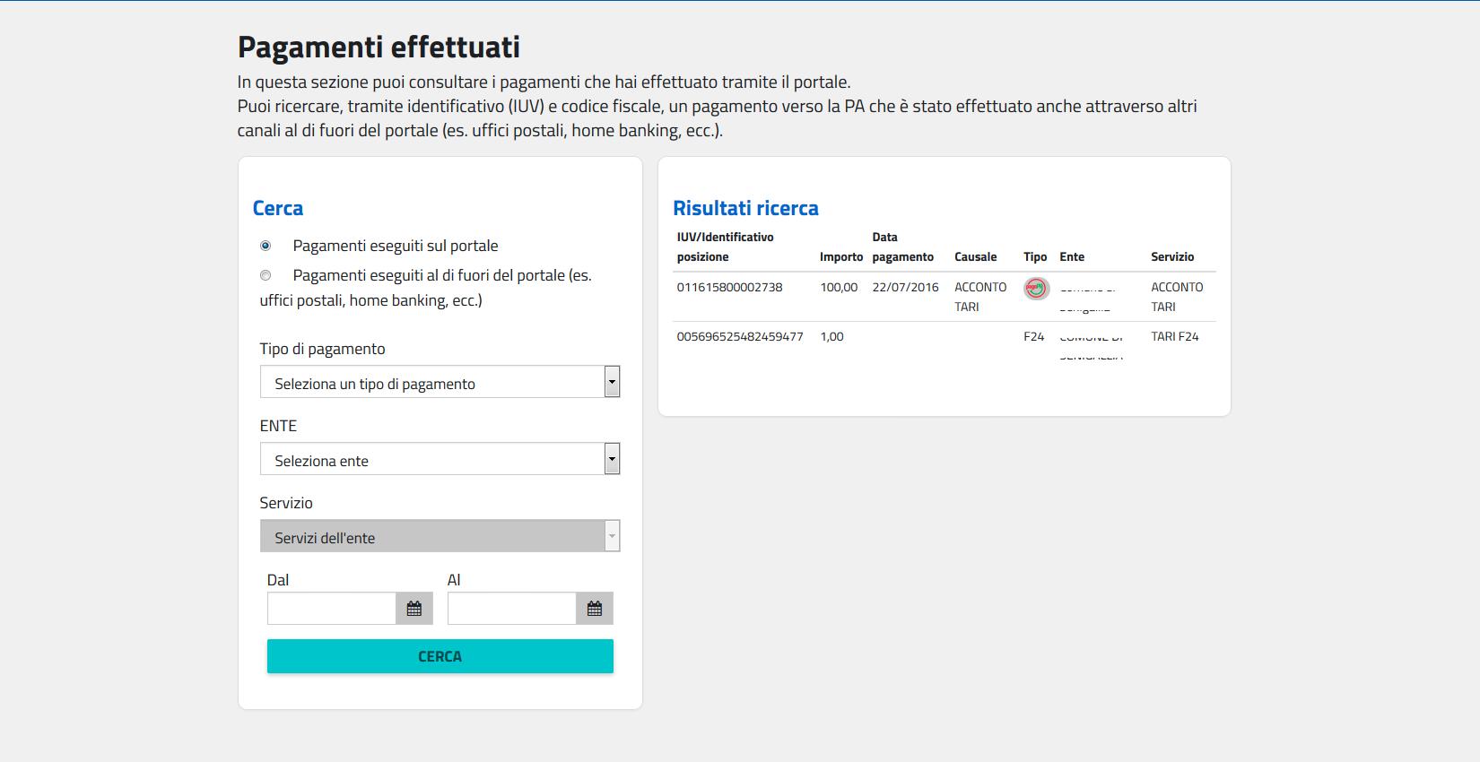 Pagamento online f24 gallery of with pagamento online f24 for F24 elide codice identificativo